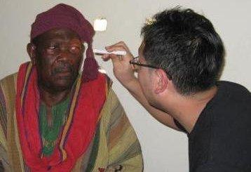 ガーナでのボランティア活動